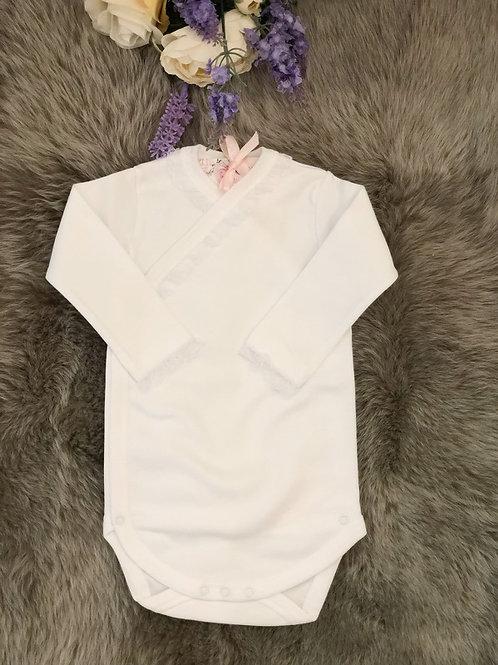 Body Lace Cross White