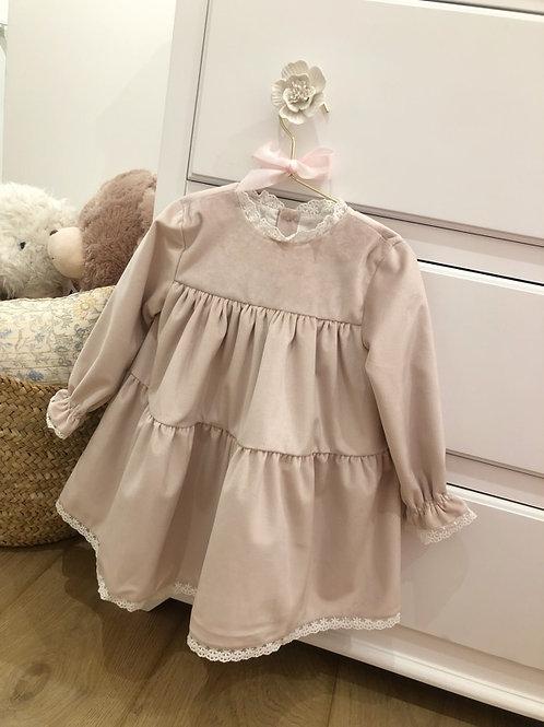 Dress Velvet Pink