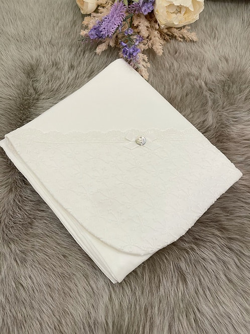 Lace Cream Blanket