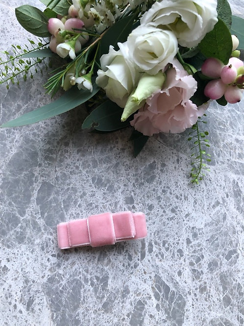 Double Bow Powder Pink