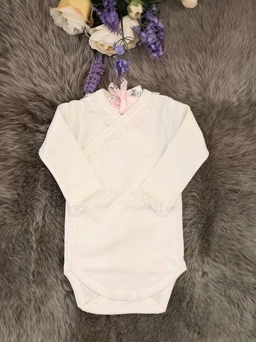 Body Lace Cross Ivory