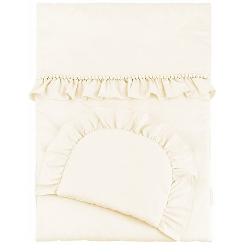 Duvet Cover Boho Ivory