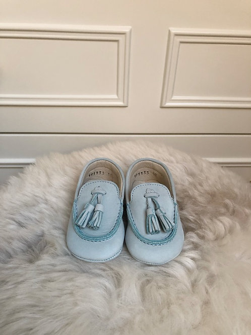 Baby Blue Scott Moccasin