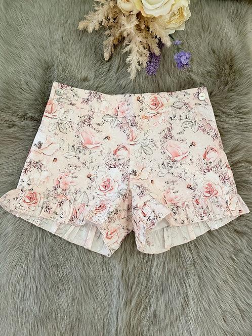 Shorts Pink Rose