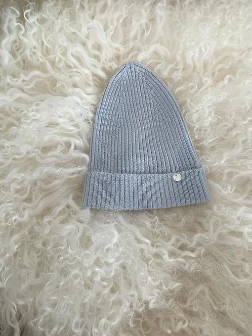 Hat Wedoble Rib Blue