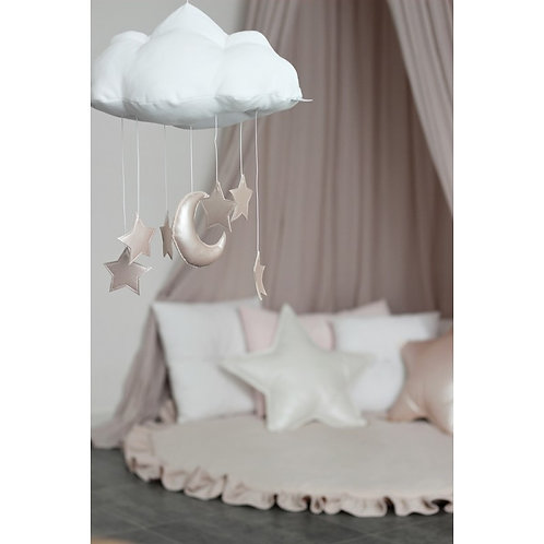 Mobile Cloud White Pink