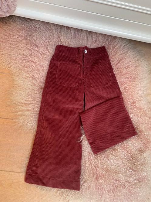 Corduroy Trousers Brique