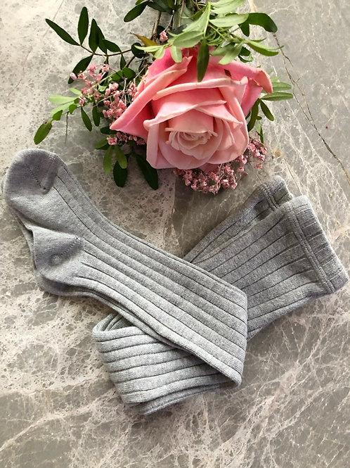 Rib Tights Grey