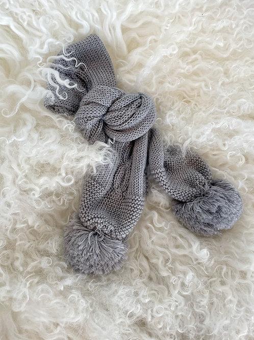 Scarf Wedoble Grey
