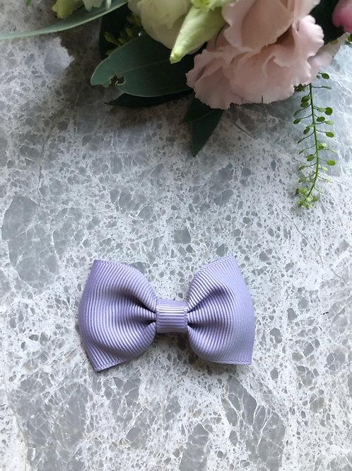 Bow Grosgrain Lila mini