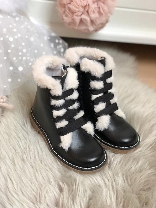 Boots Jamie Black Fur