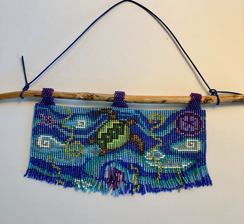 Turtle Seascape Tapestry