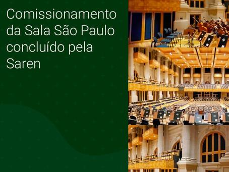 Comissionamento na Sala São Paulo concluído pela Saren
