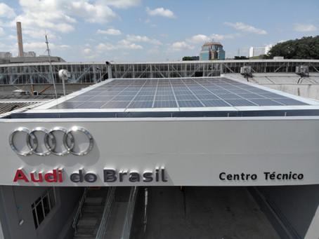 Saren selecionada pela Audi para primeiro projeto solar.