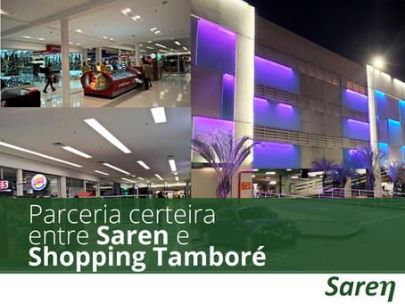 Parceria certeira entre Saren e Shopping Tamboré