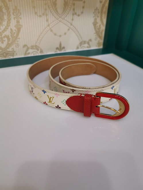 LV multicolor Monogram Belt 85/34