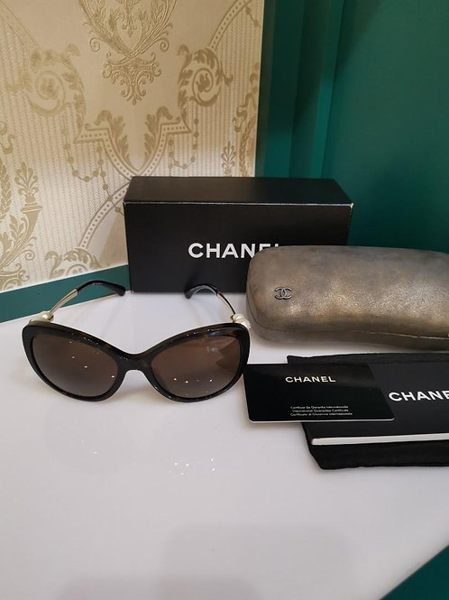 Chanel Butterfly Sunglasses Pearl Polarized