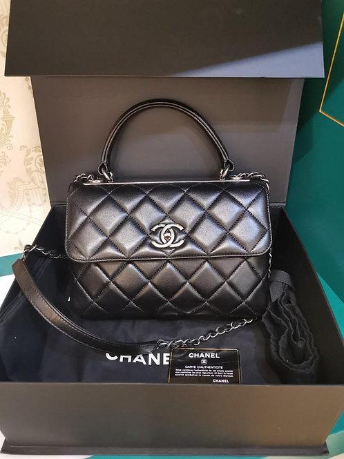 #21 LNIB Chanel Trendy CC Shoulder bag Small Lamb RHW(Cash S$6,200)