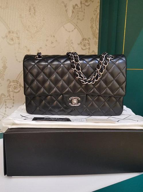 #16 LNIB Chanel Classic Double Flap Medium Lamb SHW (Cash S$7,800)