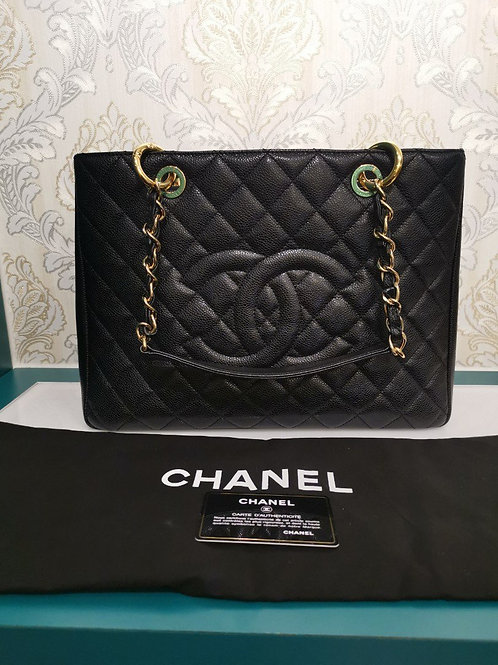 #19 Brand New Chanel GST Black Caviar with GHW