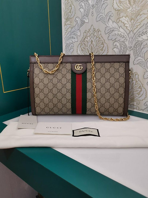 Brand New Gucci Ophidia gg medium shoulder bag