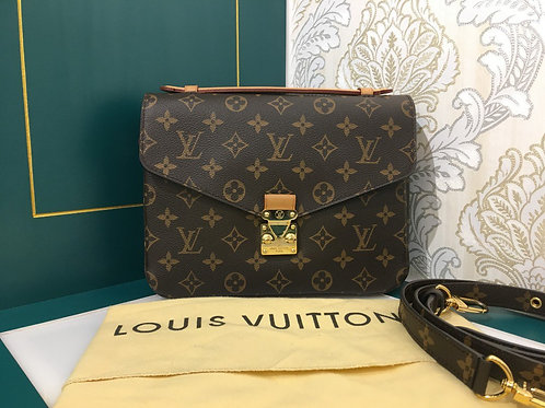 Lv Louis Vuitton Pochette Metis Monogram Canvas