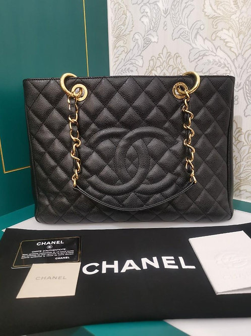 #15 Chanel GST Black Caviar with GHW