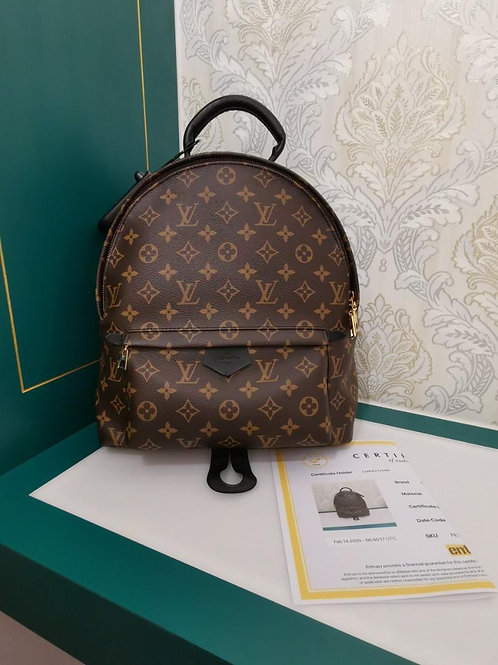 Like new Louis Vuitton Palm Spring MM Backpack Monogram Canvas