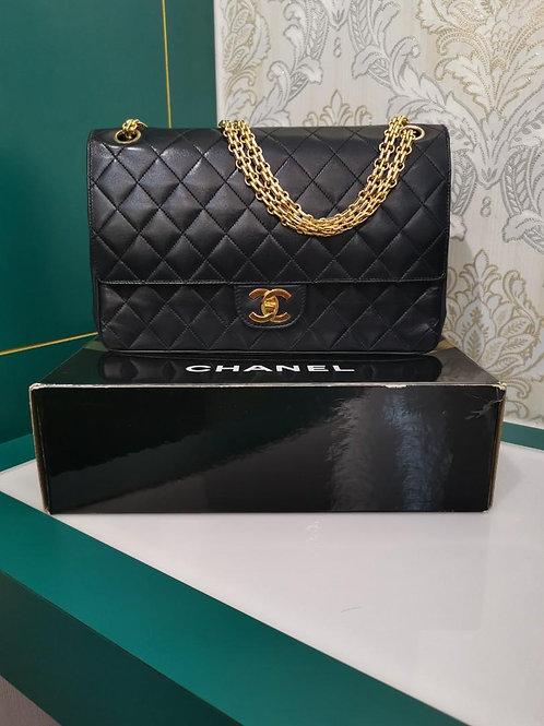 Chanel Vintage Reissue Classic Double Flap Dark Navy Lamb GHW