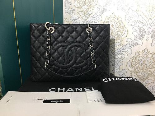 #19 LNIB Chanel GST Black Caviar with SHW