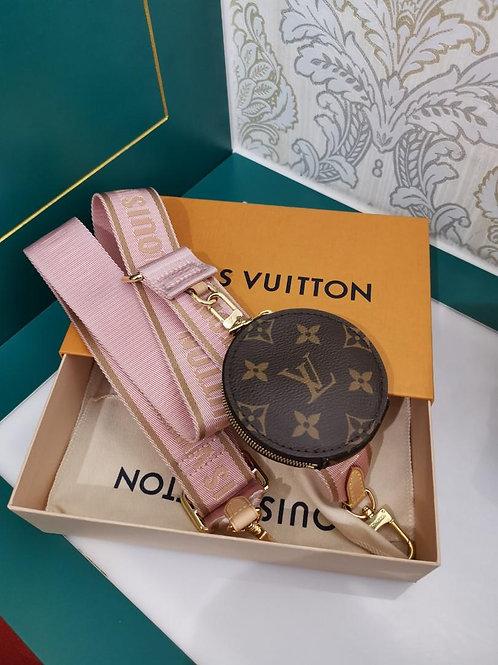 LNIB LV coin purse with strap