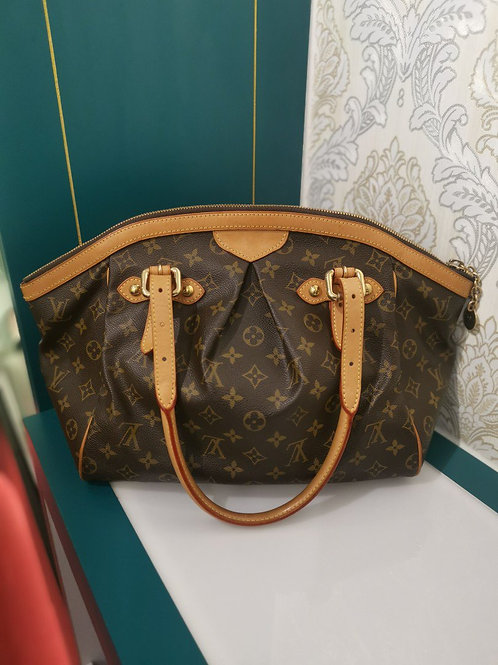 Louis Vuitton LV Tivoli Shoulder Bag GM Monogram Canvas