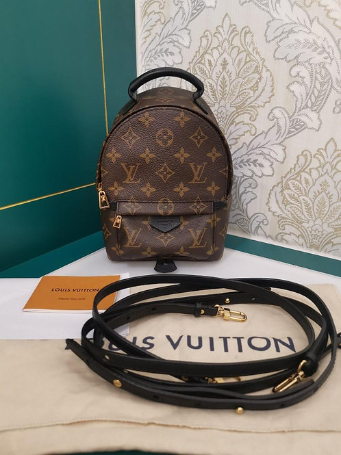 Brand New LV Louis Vuitton Mini Backpack Palm Spring Monogram Canvas