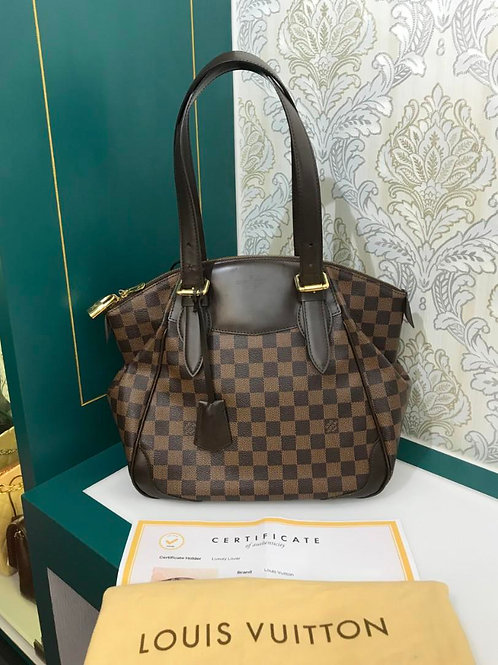 Like New LV Louis Vuitton Damier Verona MM Shoulder Bag N41118