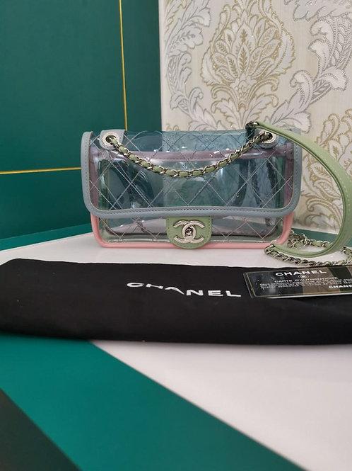 #25 Like New Chanel Coco Splash Flap Small SHW