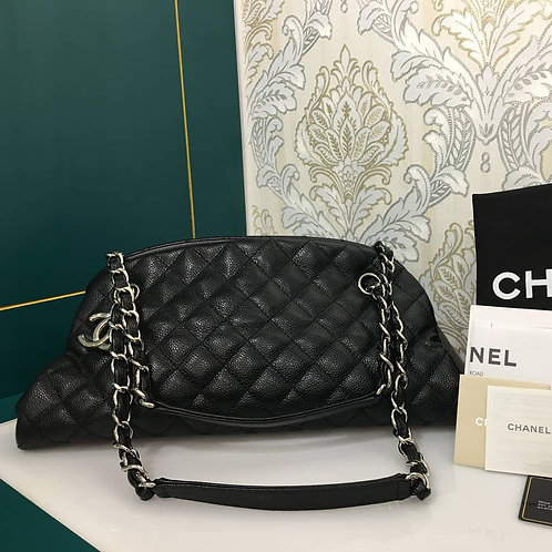 Chanel mademoiselle bag Black Caviar with SHW