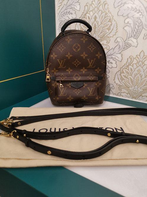 Like New Louis Vuitton LV Palm Springs Mini backpack canvas monogram