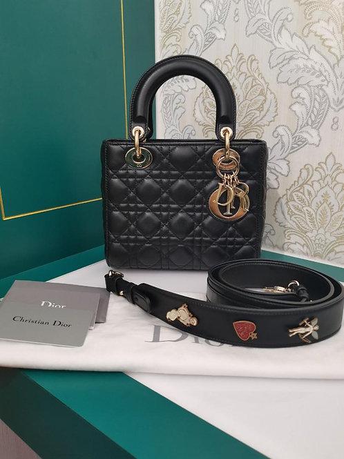 Lady Dior My ABCDior Black Lamb GHW