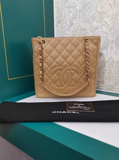 #9 Chanel PST dark beige Caviar GHW