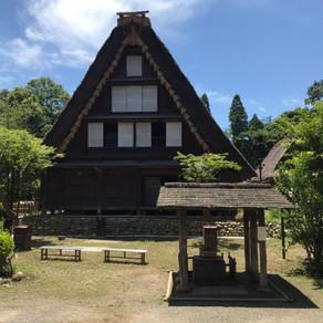 「梅雨の」日本民家園