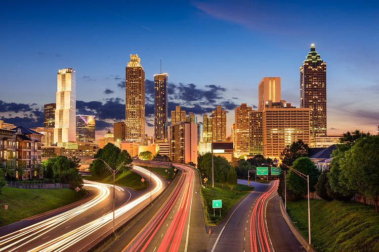 Atlanta, Georgia, USA downtown skyline..