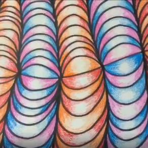 Wavy Optical Illusion