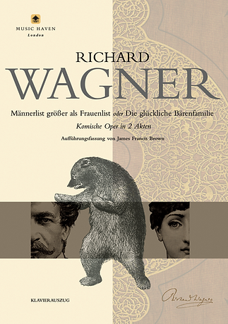 Richard Wagner: Männerlist größer als Frauenlist (Vocal Score)