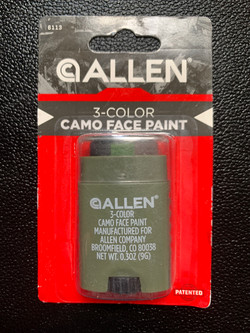 3-Color Allen Camo Face Paint Stick