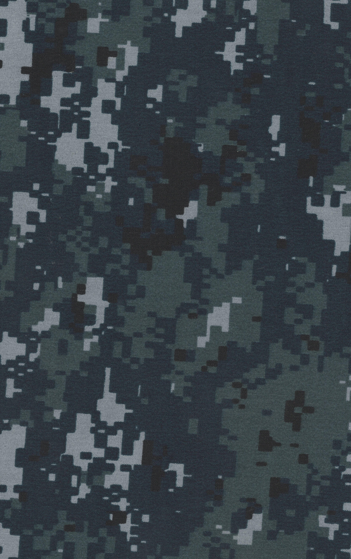 NAVY BLUE DIGITAL CAMO MATERIAL