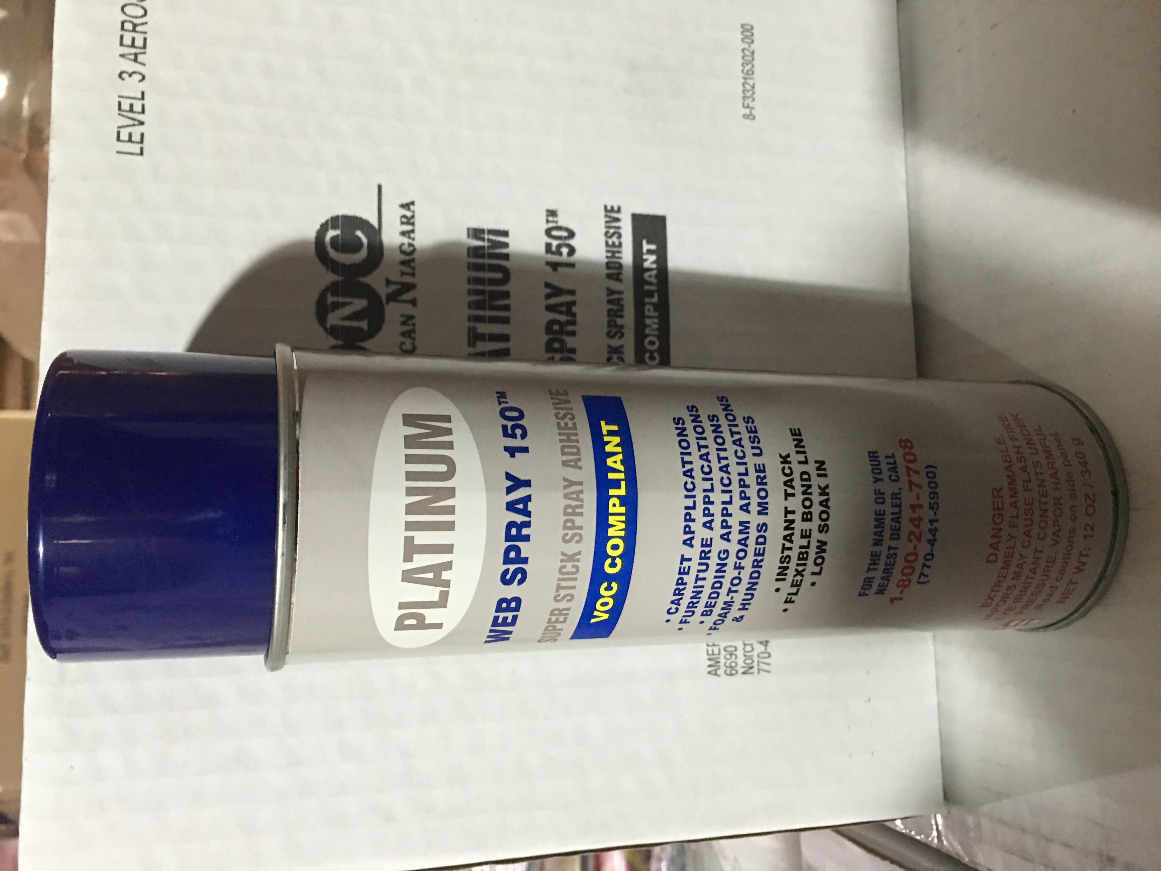 Platinum Web Spray Adhesive 150