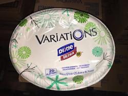 Dixie Variations Paper Platter
