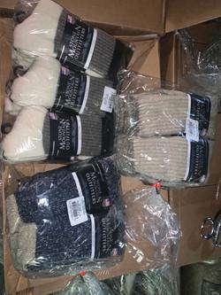 Stone Mountain Wool Socks