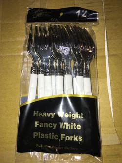 Heavy Duty Plastic Forks