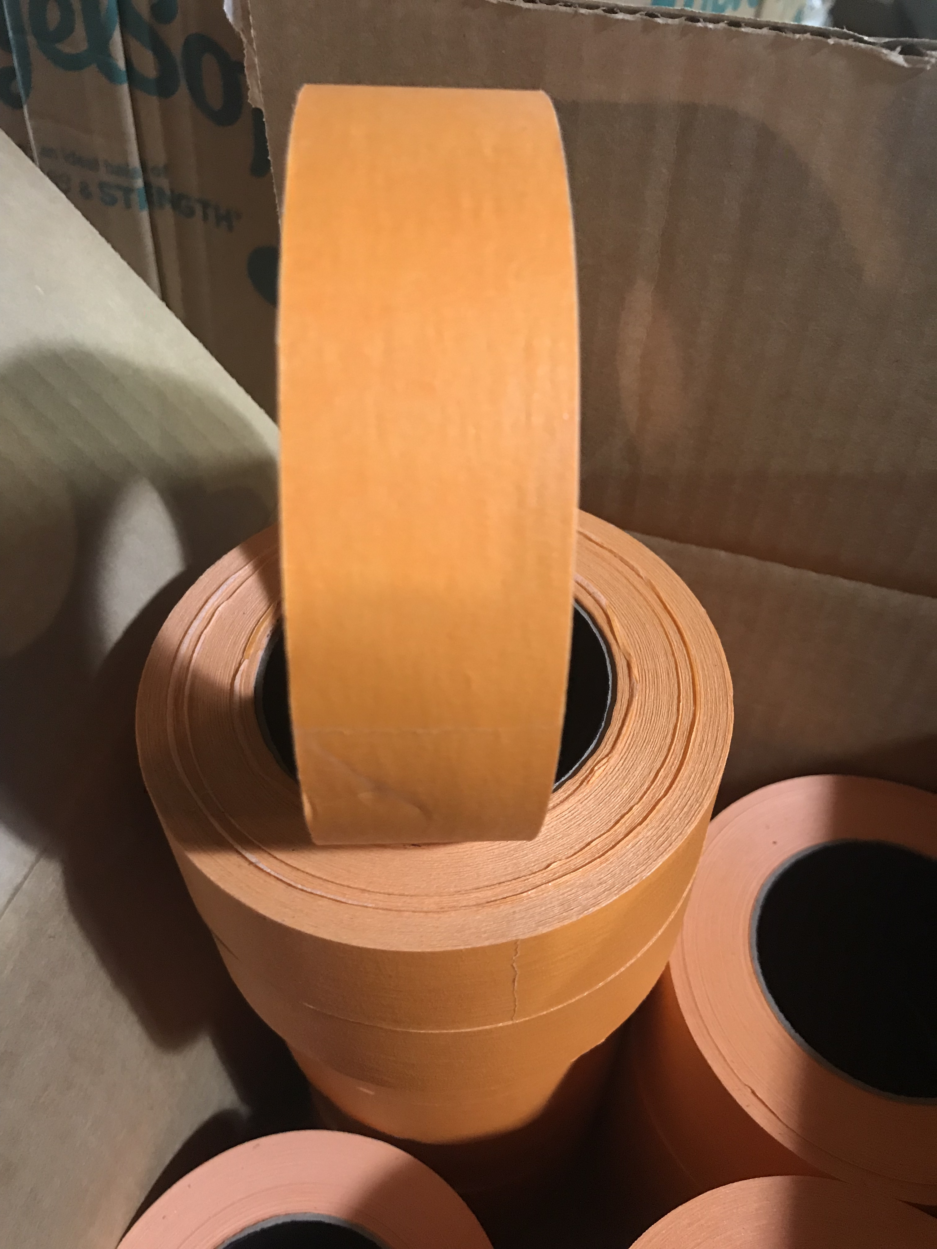 "1.5"" Orange Pro Painters Tape"